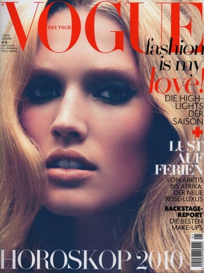 Toni Garrn does Vogue Germany-january 2010