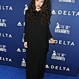 Lorde looked incredible at the Delta Grammys party.