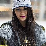 Just because there are flurries floating around, doesn't mean your makeup has to be ho-hum, like Corri McFadden proved. Source: Le 21ème   Adam Katz Sinding