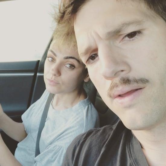Mila Kunis and Ashton Kutcher Address Split Rumors Video