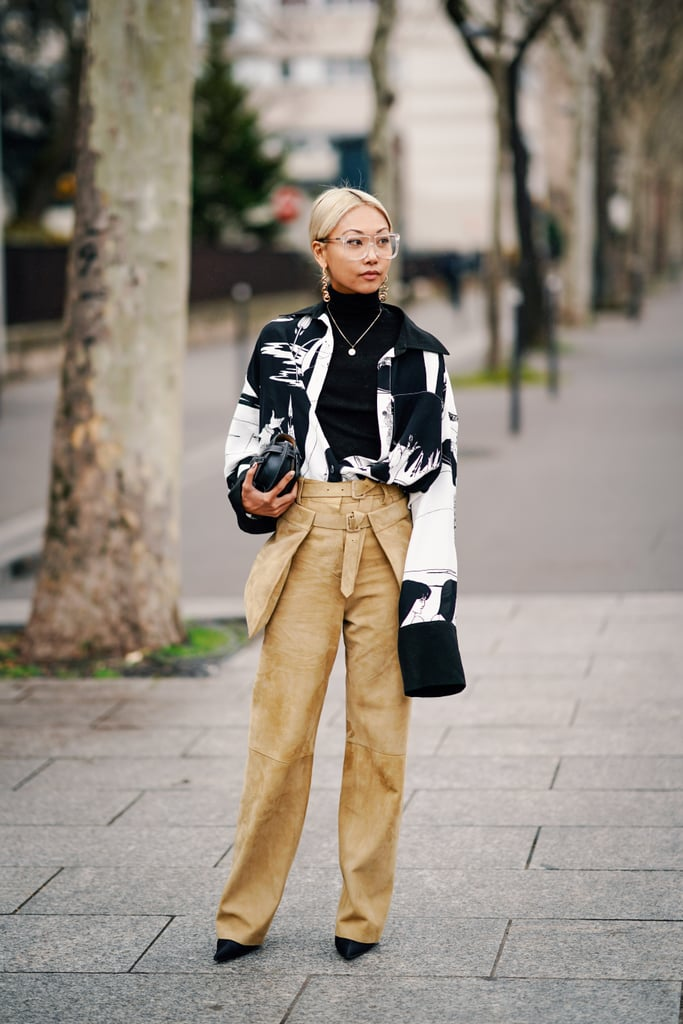 How to Wear Suede: Pants