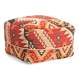 Made in India Jacquard Pouf