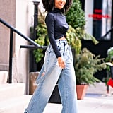 How to Wear Jeans: Yara Shahidi