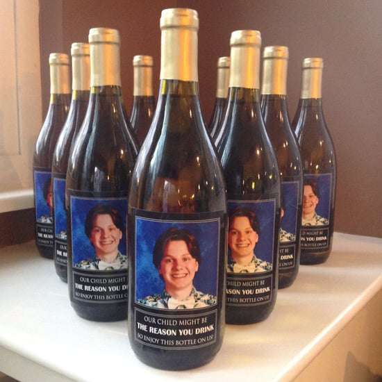Personalized Wine Bottle Gift For Teachers