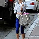 Reese Witherspoon looking all cute after a two hour boxing class.