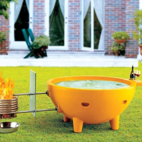 Alfi Portable Fire Hot Tub on Amazon