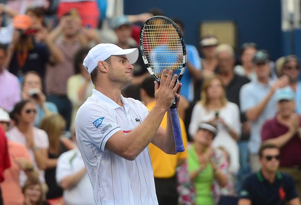Brooklyn Decker Andy Roddick Crying US Open Loss