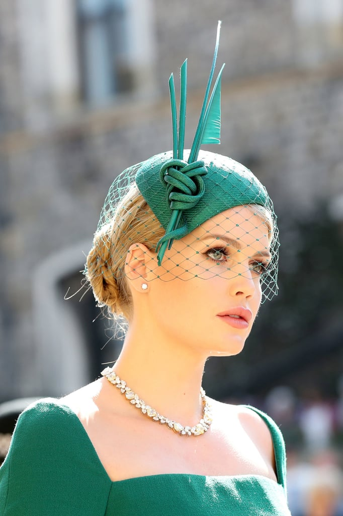 Lady Kitty Spencer Celebrities At The Royal Wedding 2018