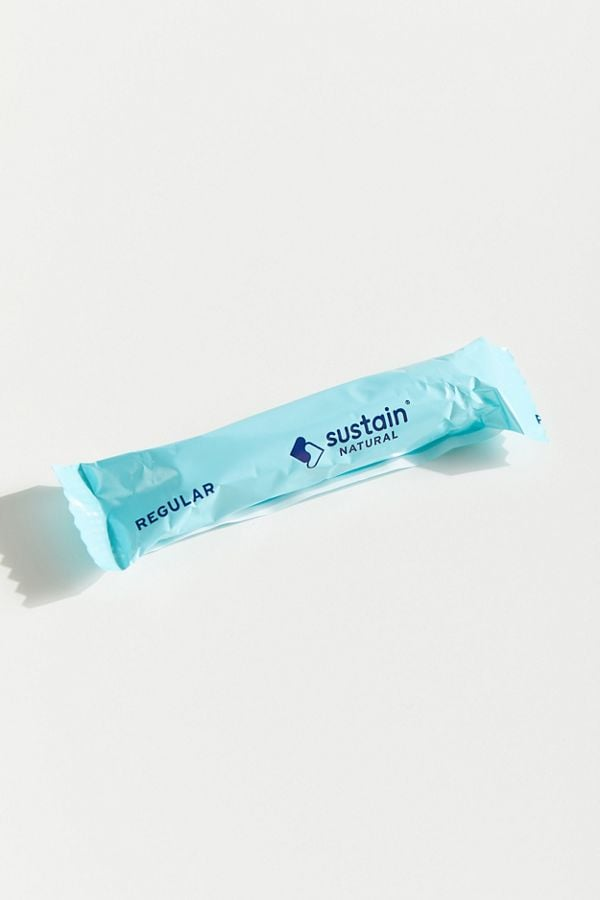 Sustain Natural Organic Cotton Regular Tampon Pack