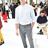 Cameron Dallas at the Carolina Herrera New York Fashion Week Show