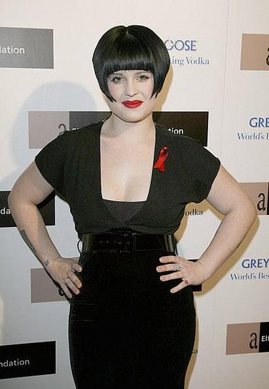 Kelly Osbourne's New Haircut: Elton John AIDS Foundation Party