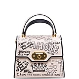Dolce & Gabbana Graffiti Top Handle Bag