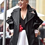 Pink at Hollywood Walk of Fame Ceremony 2019