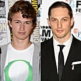 """Ansel Elgort has been in more than one huge blockbuster recently, from the Carrie remake to Divergent. He's also going to be in The Fault in Our Stars. He may be a fresh face, but he already has his Hollywood crush picked out. In an interview with Flaunt magazine last year, Ansel shared his secret: """"I would go gay for Tom [Hardy]! He lets himself become the character and reveals so much about himself in the process. He is very special."""""""
