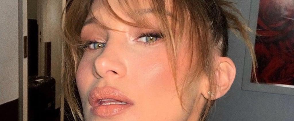 Bella Hadid Tries Curtain Bangs at Cannes 2019