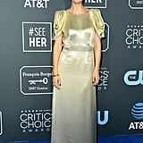 Maggie Gyllenhaal at the 2019 Critics' Choice Awards