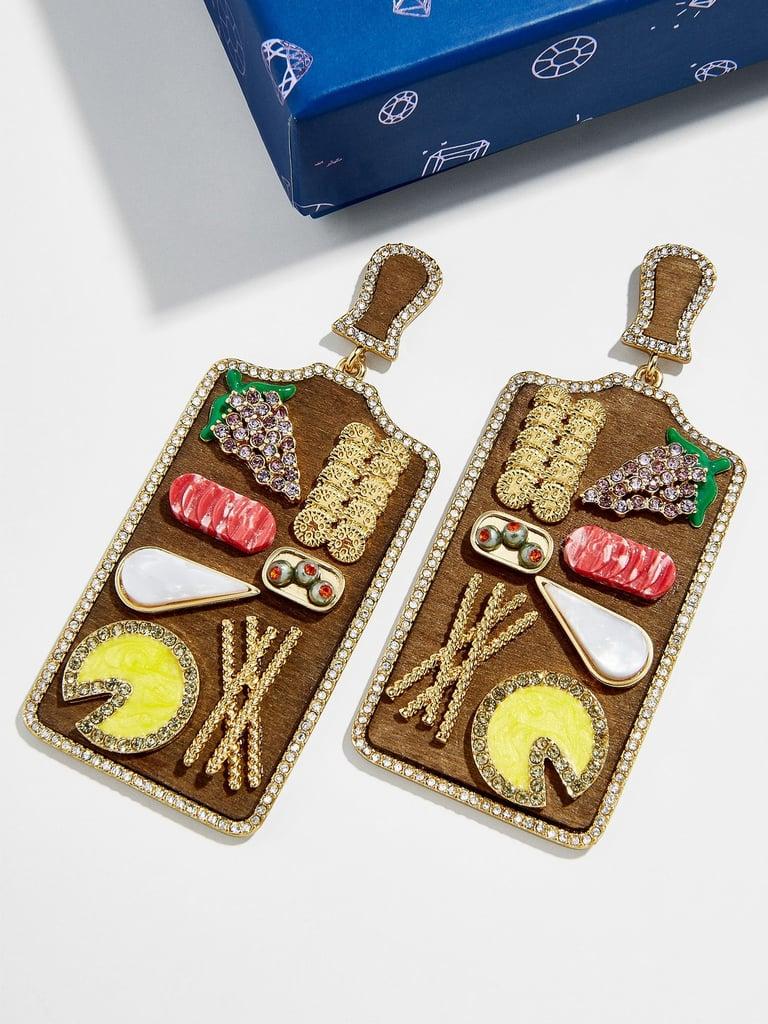 Char-cute-erie Drop Earrings