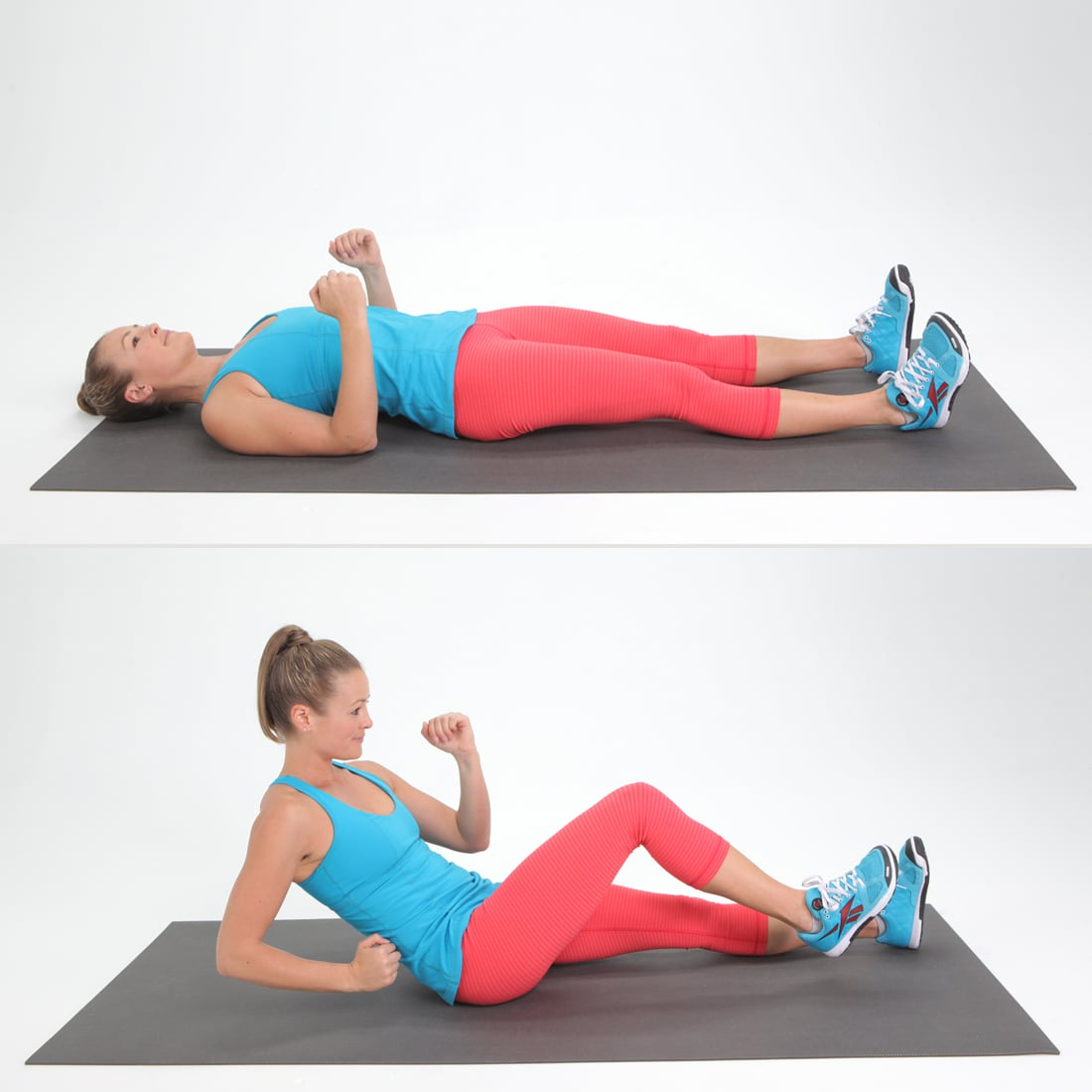 Core Runner S Crunch The Ultimate List Of The Best Bodyweight Exercises Popsugar Fitness Photo 58