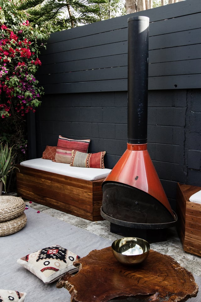 How To Turn Your Backyard Into An Outdoor Living Room Popsugar Home