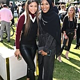 Storm Reid and Ibtihaj Muhammad at the 2020 Gold Meets Golden Party in LA