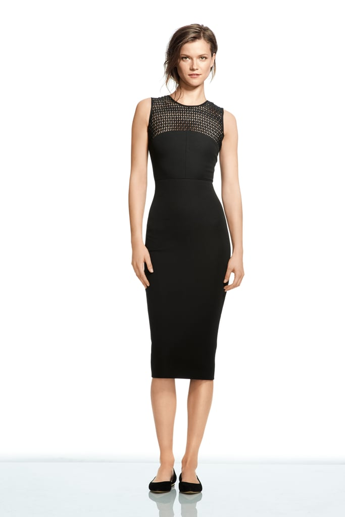Roland Mouret For Banana Republic Lace Yoke Dress