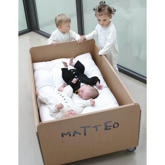 Customizable Cardboard Cot For Eco-Kids