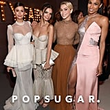 Pictured: Nina Dobrev, Emily Ratajkowski, Julianne Hough, and Ciara