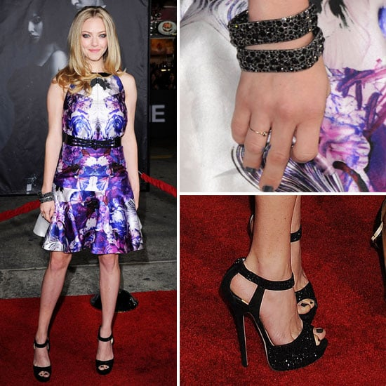 amanda seyfried at in time la premiere popsugar fashion