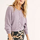 Free People One Allegra Cardi in Lilac