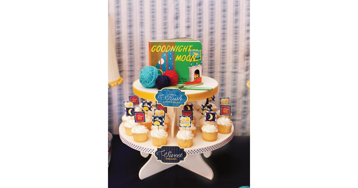 Goodnight Moon Cupcakes Goodnight Moon Party Popsugar Family Photo 7