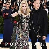 Sarah Paulson, Madonna, and Jeremy Scott