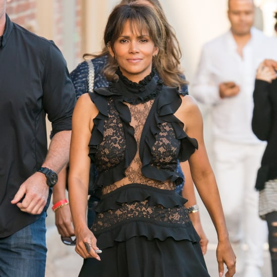 Halle Berry Lunch