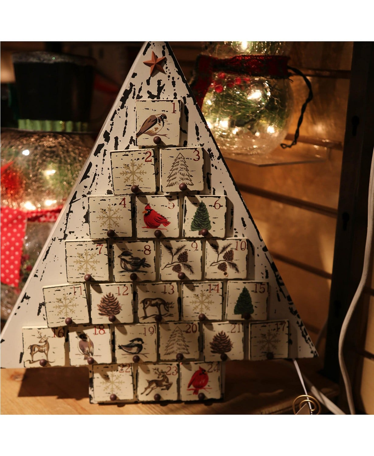 Sterling Rustic Wooden Christmas Tree Advent Calendar Best Christmas Advent Calendars 2019 Popsugar Australia Parenting Photo 5