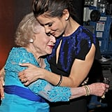 Sandra Bullock presented Betty White with a lifetime achievement award in 2010.