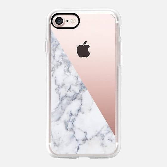 Marble Side iPhone 7 Case ($40)