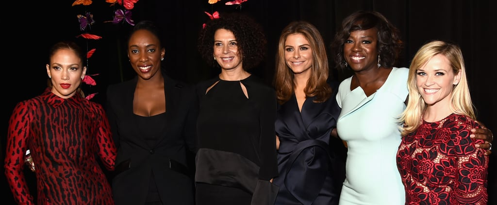 Celebrities at the Variety Power of Women Event 2014