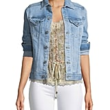 AG Jeans Mya Light-Wash Denim Jacket