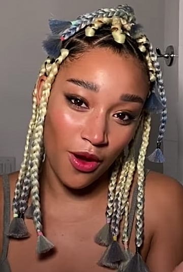 Amandla Stenberg's Vogue Makeup and Hair Tutorial Video