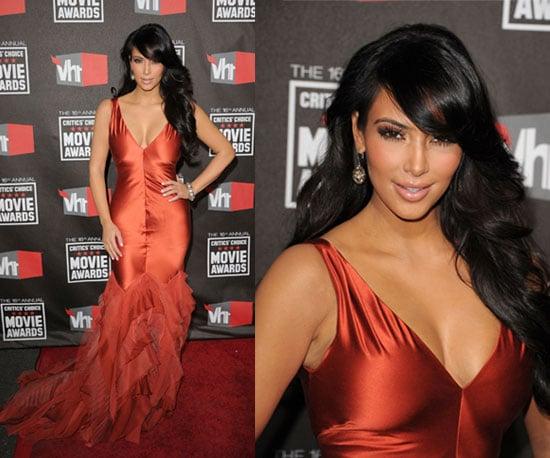 Kim Kardashian at 2011 Critics' Choice Awards