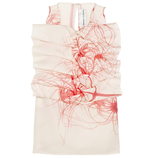 Prabal Gurung Ruffled Silk-Gazar Top, $1430