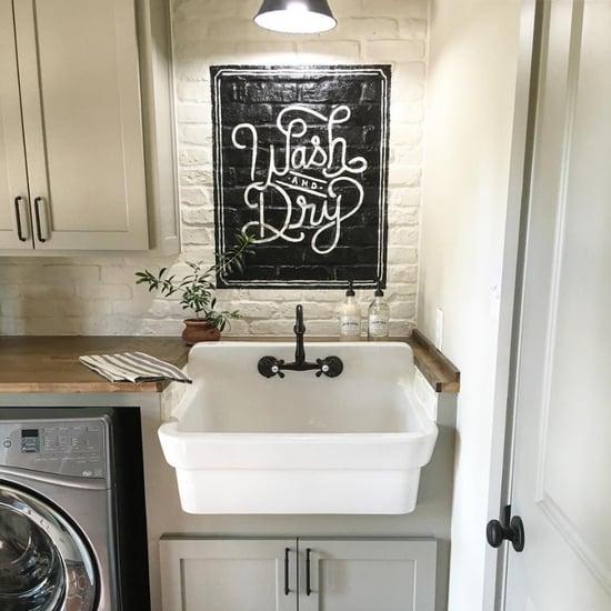 Joanna Gaines's Laundry Room