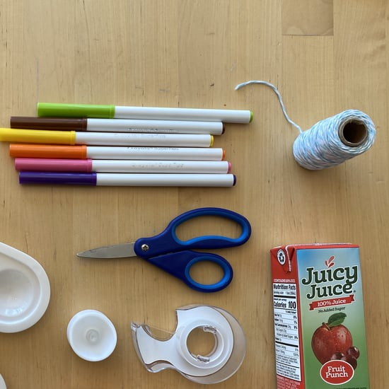 How to Make a DIY Lantern With a Juice Box