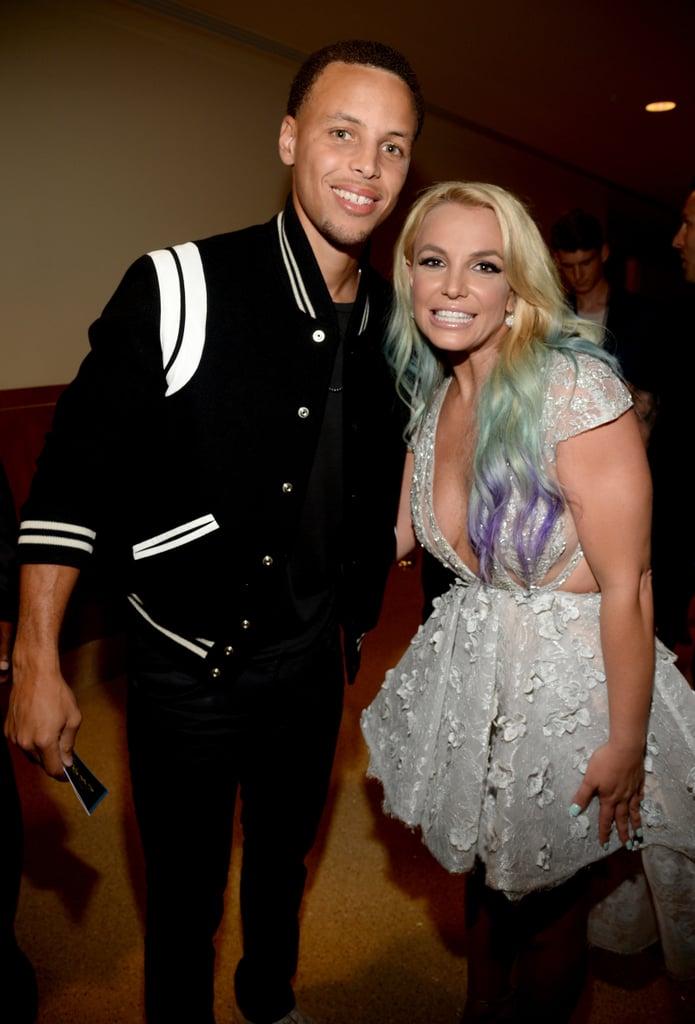 Britney got the chance to meet golden state warriors basketball britney got the chance to meet golden state warriors basketball player stephen curry marking one m4hsunfo
