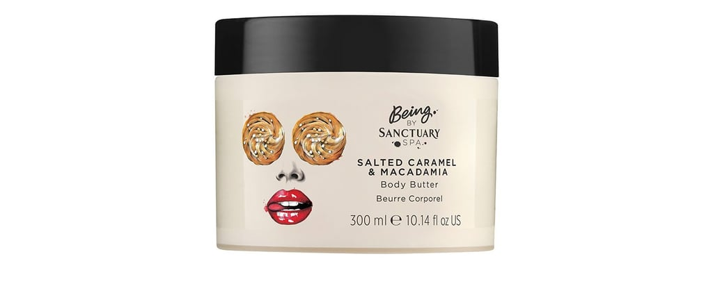 Being by Sanctuary Spa Salted Caramel and Macadamia Products