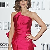 Jessica, Kate, and Colin Dress Up For Total Recall in Dublin
