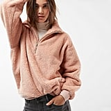 Express Oversized Fleece Top