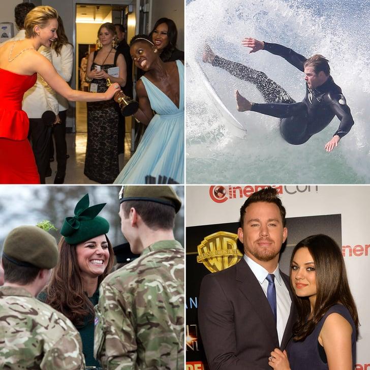 March Was Full of Must-See Celebrity Moments