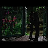They go back to that greenhouse(?) where they made out once, and make out again.