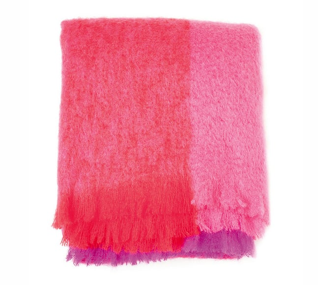 Irish Mohair Blanket