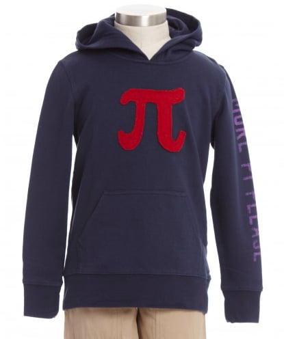 Pi Pullover Hoodie ($48)